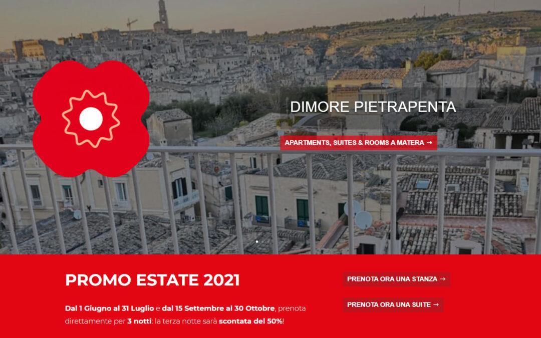 Promo Estate 2021 Dimore Pietrapenta Matera